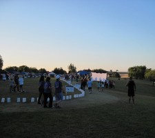 Route of Paso Robles Relay For Life Walk