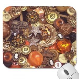 Celestial Buttons Mousepad