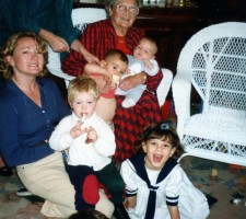 Mum and 5 children