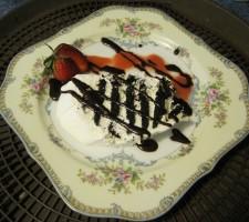 chocolate wafer dessert