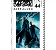 harry potter postage stamps