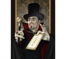 Count Dracula Party Invitations