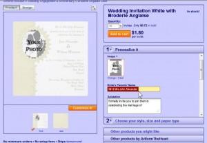 Photo Wedding Invitations Image 3