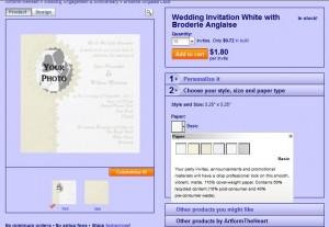 Photo Wedding Invitations Image 5