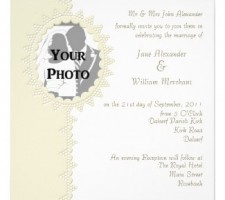 Photo Wedding Invitations that are Affordable and Unique