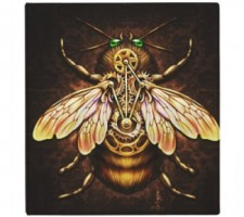 Steampunk Bee Binder