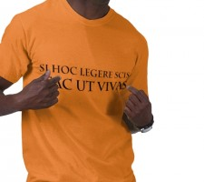 Funny Latin phrase t-shirt