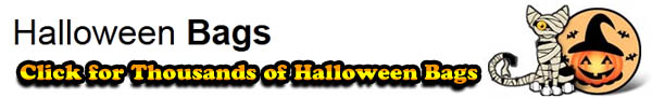 pumpkin halloween trick or treat bags