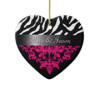 Zebra Christmas Decorations  Christmas Lights Card and Decore
