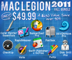 Mac Legion Bundle - Fall 2011