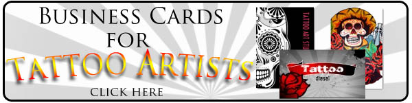 Tattoo Business Cards WebNuggetzcom - Tattoo business card templates