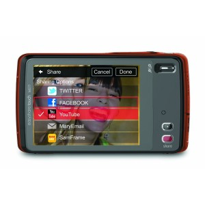 Touch Screen Digital Cameras