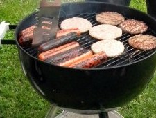 Weber One Touch Gold Charocal Grill