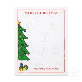 Choosing the Perfect Christmas Letterhead Paper for Your Holiday ...