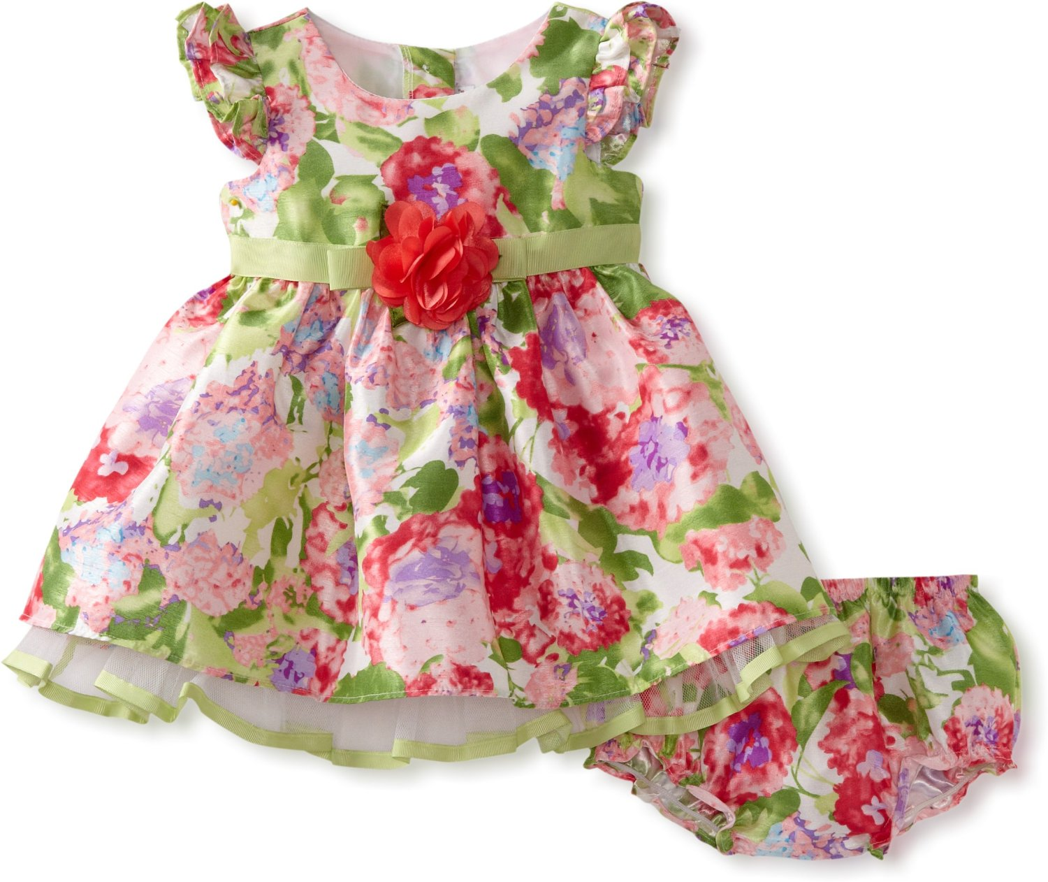 Girls hand smocked dresses, bishop style and Christening gowns in a collection of fine colorful fabrics like silk and piqué cotton at huge savings.