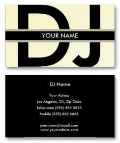 Best dj business cards to help you get the best jobs webnuggetz these are the best deals on dj business cards that youre going to find and there are tons to choose from reheart Choice Image
