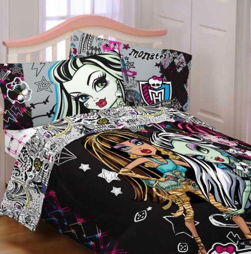 Monster High Bedding Webnuggetz Com, Monster High Bedding Twin