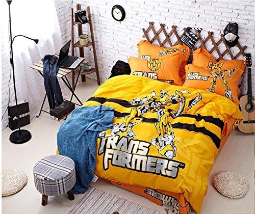 Transformers Bedding Decor, Transformers Bedding Full Size