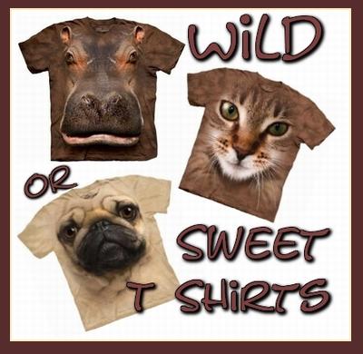 Beautiful Animal Face T Shirts