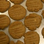 Sugar Free, No Flour Peanut Butter Cookies