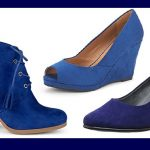 Fashion & Style : Blue Suede Shoes!!  Elvis Would Be Pleased!!
