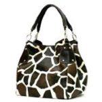 Giraffe Print Handbags