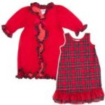 Girls' Christmas Nightgowns