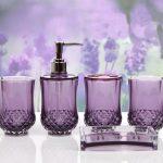 Purple Bathroom Accessories Will Brighten Up Your Bathroom