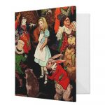 Alice in Wonderland Binders