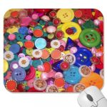 Button Themed Mousepads