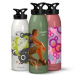 Custom Water Bottles - Vintage