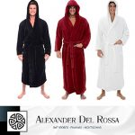 Gifts for Him : Alexander Del Rossa Bathrobes
