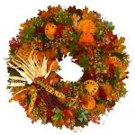 Thanksgiving Wreaths for Indoors and Out