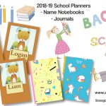 Personalized Name & Back to School Supplies for Students and Teachers