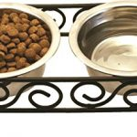 Cat Feeding Bowls On Stand