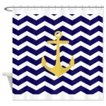 Chevron Shower Curtains Add Pizzazz to Your Bathroom!