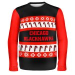 Chicago Blackhawks Ugly Christmas Sweater