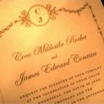 Celebrity Inspired Wedding Invitations