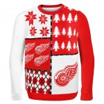 Detroit Red Wing Ugly Christmas Sweater