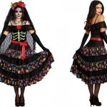 Happy Holidays!  Lady Of The Dead Costume for Women for Halloween