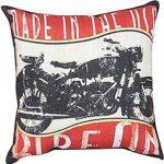 Biker Throw Pillows