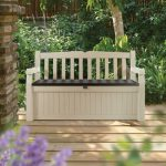 Outdoor Storage Bench & Boxes