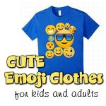 Cute Emoji Clothes for Kids and Adults