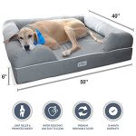Extra Large Orthopedic Bolster Dog Bed