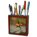 Pen Holder with Floral Designs For Her