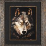 Framed Art Print -Wolf Art Prints