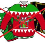 Happy Holidays! Ugly Xmas Sweaters OUT! Cute Comfy Xmas Dresses IN!