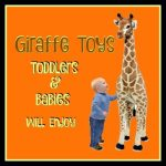 Cute Giraffe Toys Toddlers and Babies Enjoy
