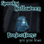 Spooky Halloween Projections for Your House