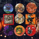 Unique Halloween Wall Clocks that Zazzle